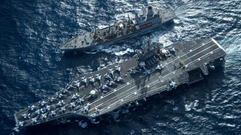 This is How Iran Could Sink a U.S. Navy Aircraft Carrier