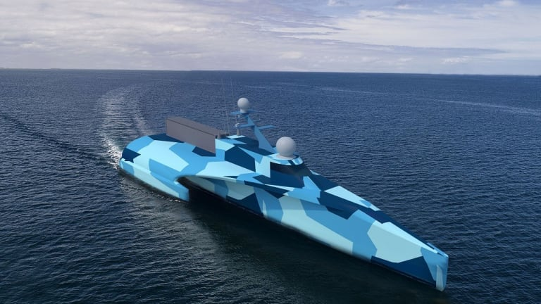 "Navy ""Ghost Fleet"" Drone Sails Nearly 5,000 Miles Autonomously"