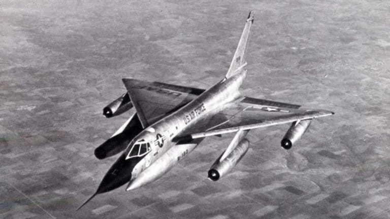 Turning the B-58 Nuclear Bomber Into a Supersonic Airliner