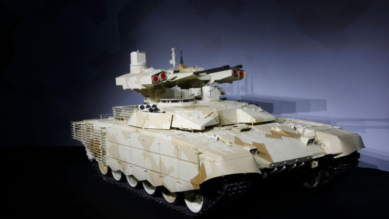 How Russia Would Wage War With Its New 'Terminator' Tank