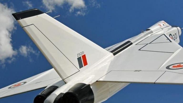 This Was Canada's Awesome, Pointless Jet Fighter