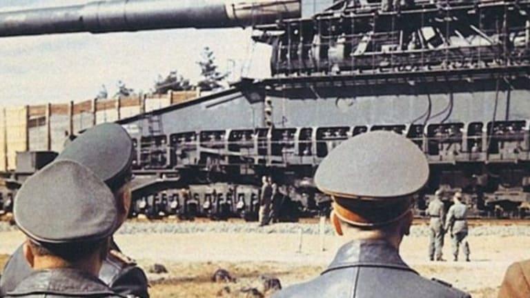A Nazi War Train Hauled the Biggest Gun Ever Made