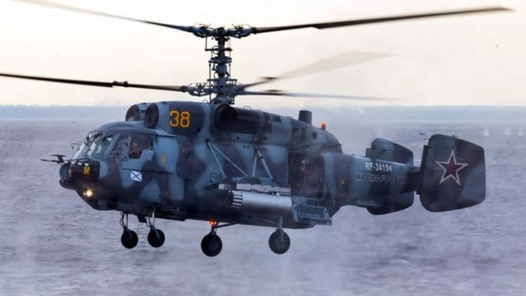 Russia's New Helicopters Are Preparing for War