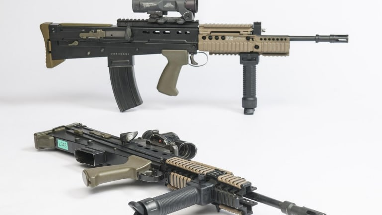 L85A1 Rifle: Short as a Submachine Gun with the Performance of an Assault Rifle