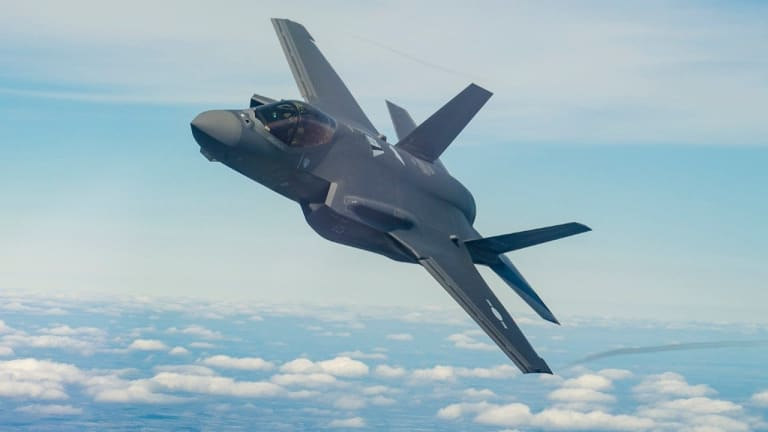 F-35 Air-to-Air Missiles Hit 2 Drones at Once in Test - Fighter Enters New Era