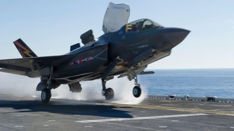 Navy USS America Amphib Gets New Tweaks for F-35B Attacks