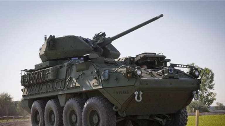 Army Fires New Stryker 30mm Cannon - Preps for Major Land War