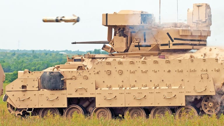 Army Arms Bradleys With Heat-Seeking, Drone-Killing Stinger Missiles