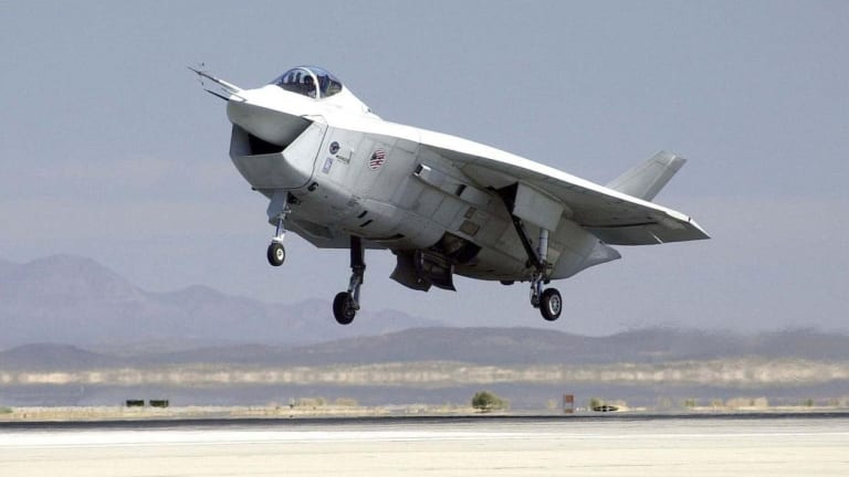 The Odd Looking Plane That Could Have Been the F-35