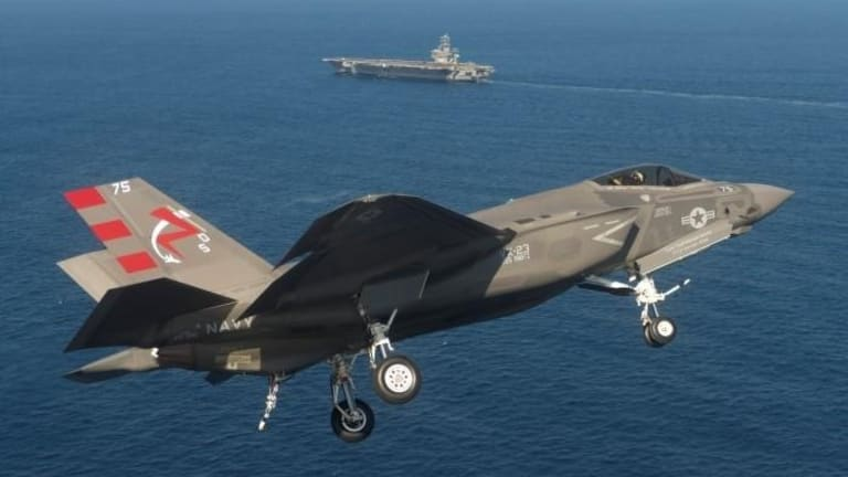 U.S. Marines Can Now Attack From Aircraft Carriers With F-35C Stealth Fighters
