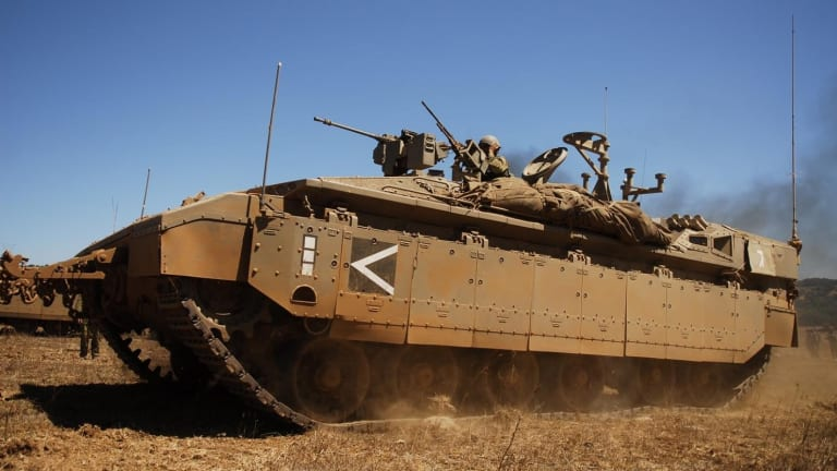 """Check Out Russia and Israel's """"Street Fighter"""" Tanks"""