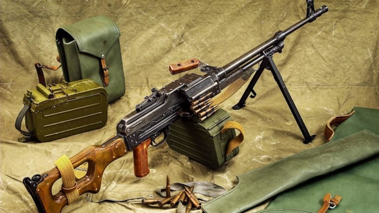 Is This the Best Light Machine Gun of All Time?