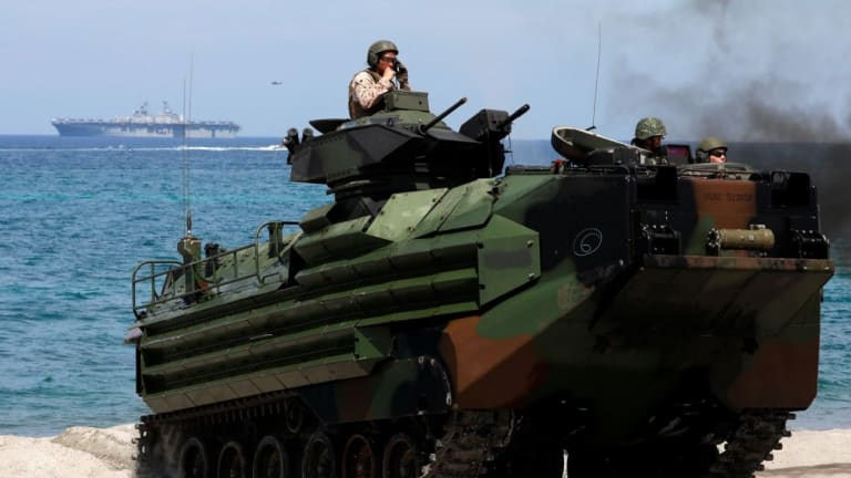 China Builds New Amphibious Assault Vehicle For Ocean Attack
