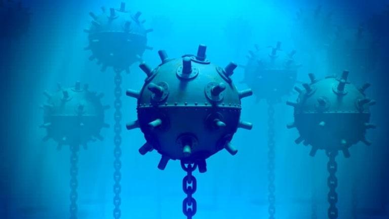Navy Undersea Drones Attack & Explode Sea Mines