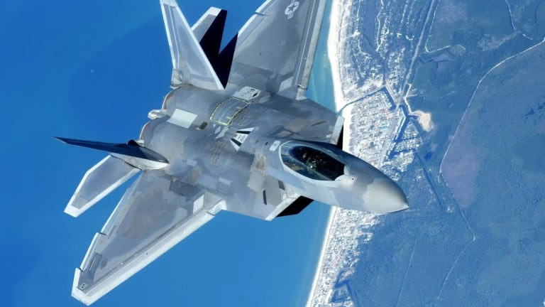 The Pentagon Might Defend Aircraft Carriers with F-22 Raptors