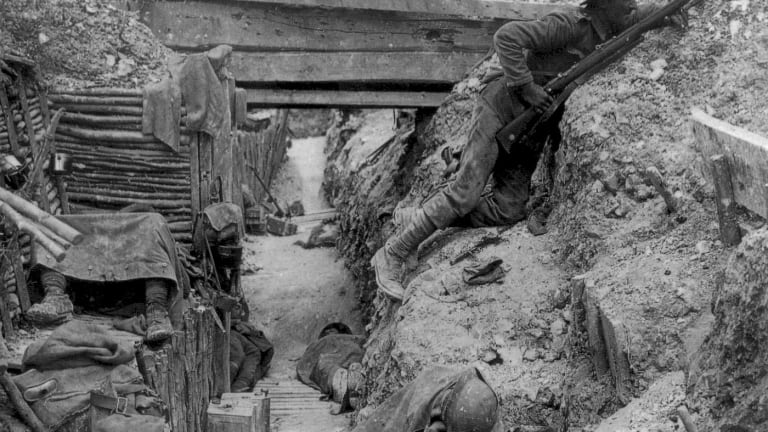 Army Lt. Takes Out Trench Enemies, Helps Turn Tide of WWI