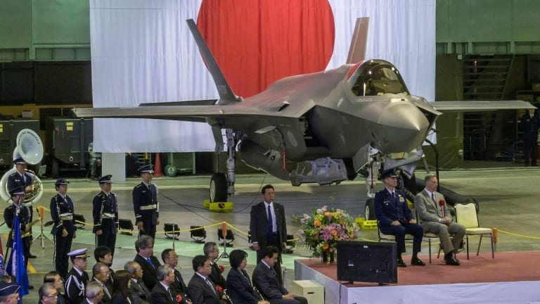 Japan Buys More than 110 New F-35s to Counter China