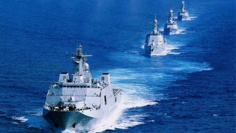 "New Navy Strategy Calls China ""Most Pressing"" Threat"