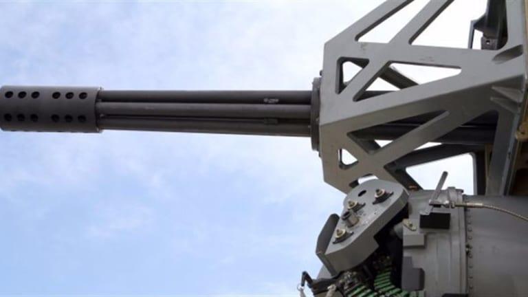 Army C-RAM Base Defense Will Destroy Drones