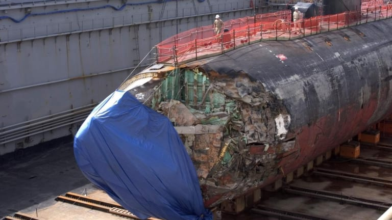 This Picture? In 2005, This U.S. Submarine Smashed Into an 'Undersea Mountain