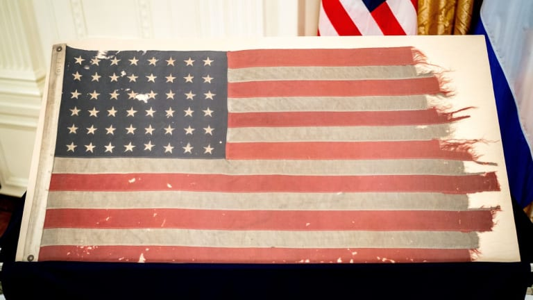 Battle-Scarred Flag From U.S. D-Day Landing Craft Returns Home