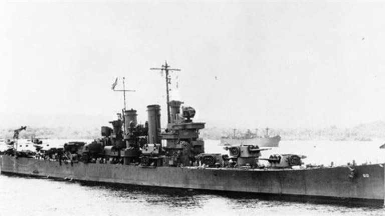 Pivotal WWII Ship Battle - off Gualdalcanal