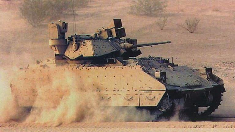 Army Tests Prototype Next-Gen Combat Vehicle Targeting Sensors