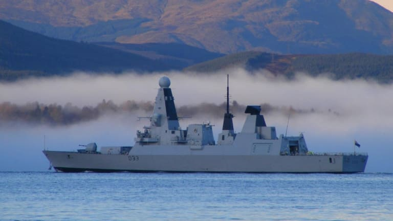 In 2018, Russian Warships Were Intercepted by the Royal Navy on 31 Occasions