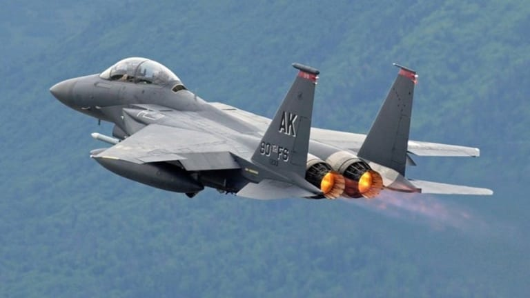Air Force F-15 Now Armed With New Weapons to Fly into 2040s