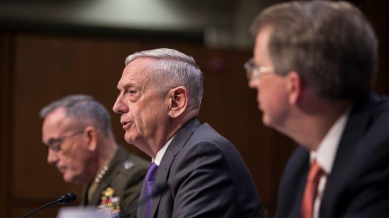 Mattis Calls For Massively Revved Up Military