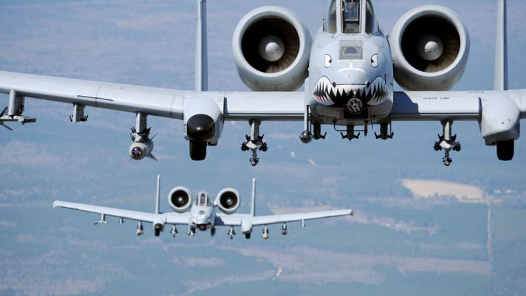 Flying Combat Missions in the A-10 Warthog