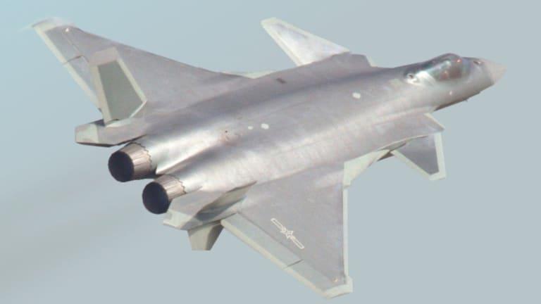 The Chinese J-20 Resembles Key Aspect of the U.S. F-22