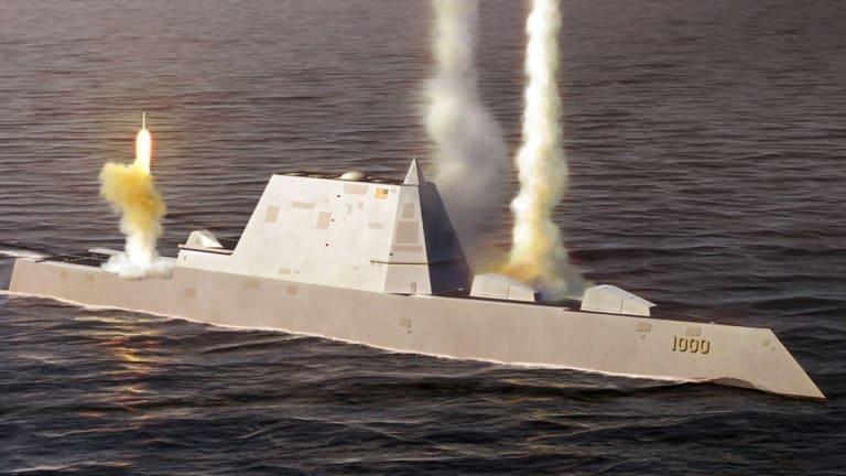 Navy Zumwalt Will Likley Fire Hypersonic Weapons