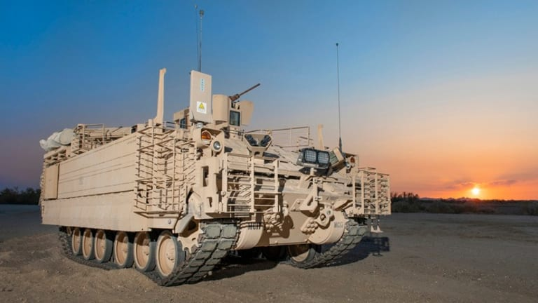 """Army Receives New """"Networked"""" Mission Command Infantry Carrier"""