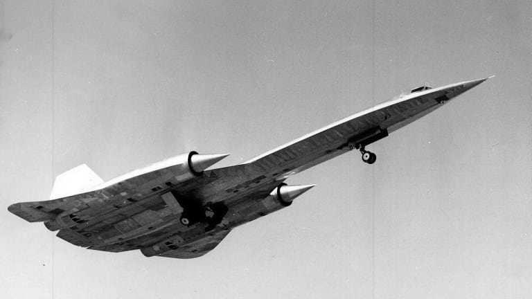 This CIA Spy Plane was Actually Faster Than the SR-71