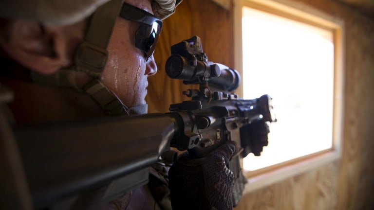 The Marine Corps' New Sniper Rifle Mk 13 Mod 7 Ready for combat