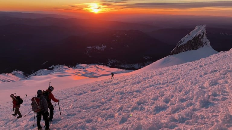 Air Force Rescues Mt. Hood Hikers on the Brink of Death -High Altitude Avalanche