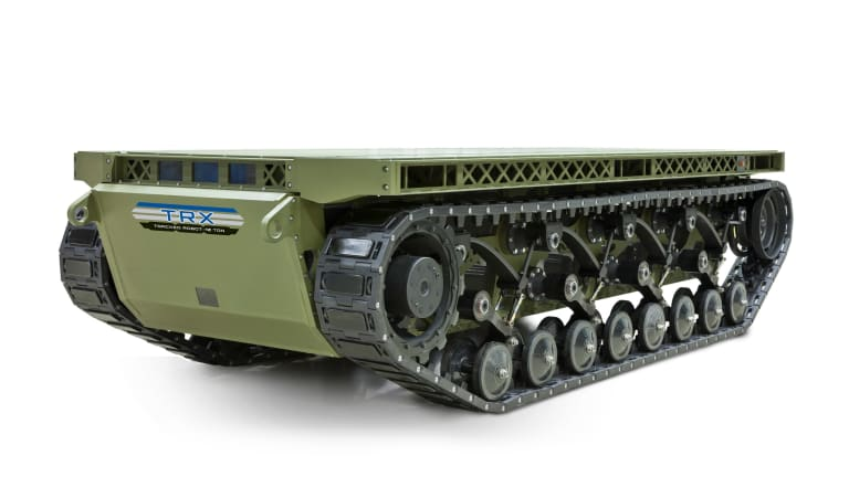 Army Fast-Tracks New Armed, Ammo-Carrying 10-Ton Robot to War