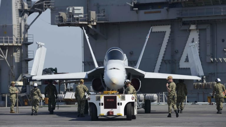 How Would a U.S. Navy Aircraft Carrier Fare in a War With Iran?