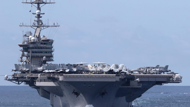 What Happens if China Sinks Two U.S. Navy Aircraft Carriers?