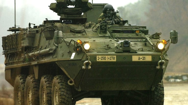 Pentagon to Send Up-Gunned, Drone-Killing Strykers to Europe to Deter Russia