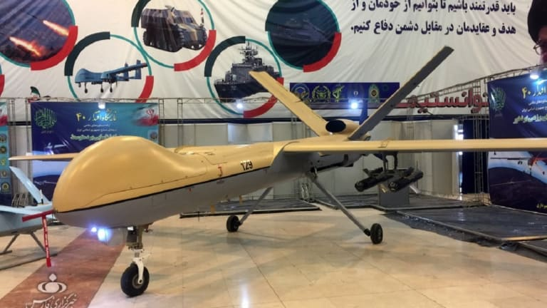 Does Iran Have Its Very Own Predator Drone That Fights F-15s?