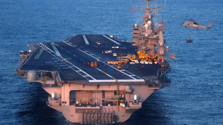Why America's Enemies Fear the Navy's Nimitz-Class Aircraft Carriers
