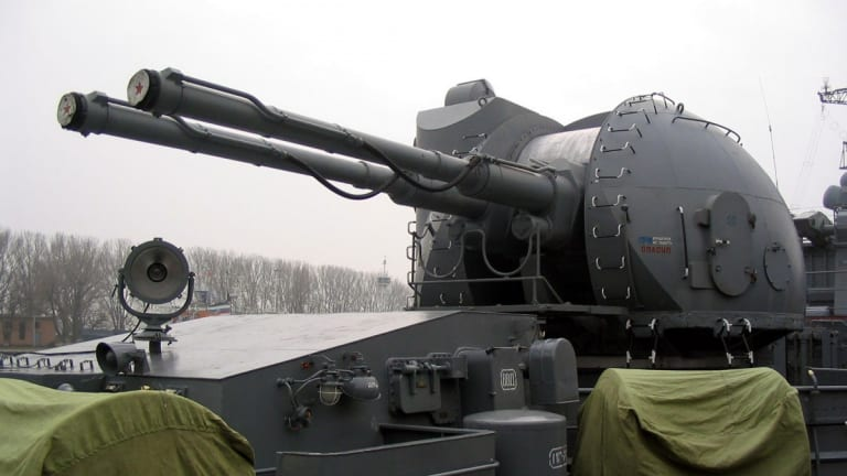 Can a Russian AK-130 Naval Gun Sink US Destroyers?