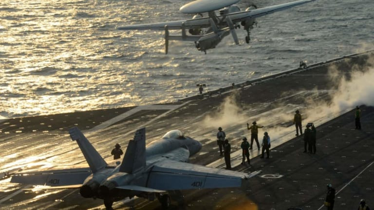 Why DARPA Wants the U.S. Navy to Have a Fleet of 355 Aircraft Carriers