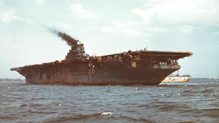 How Bad Leadership Nearly Doomed the Carrier USS Franklin