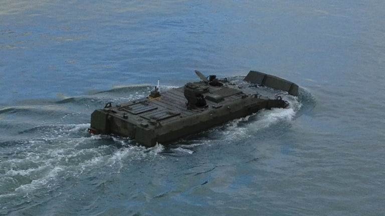 """Marine Corps Builds New Amphibious Combat Vehicle for """"Deep Strike"""" Attacks"""