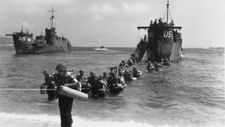 Allies Opened Second Front in France After Normandy Landings