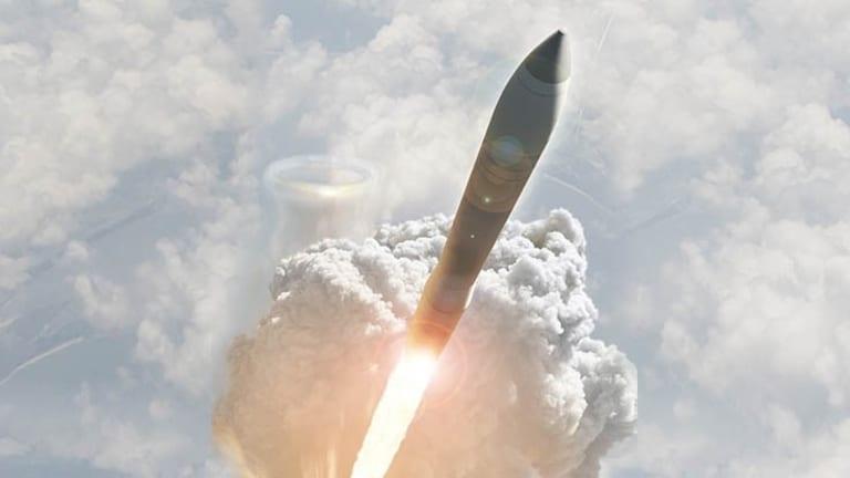 """Air Force """"Air-Launches"""" ICBM"""