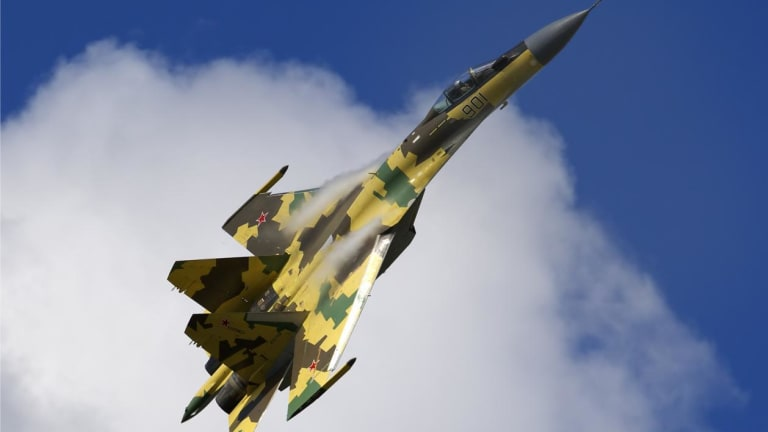 China Is Considering Buying More Russian Su-35 Jet Fighters